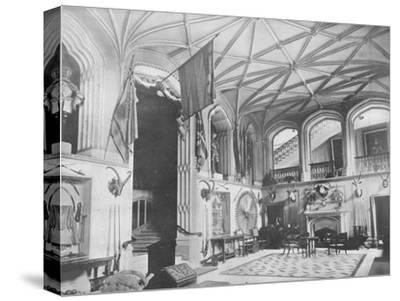 'Belvoir Castle, Leicestershire' - The Duke of Rutland, 1910-Unknown-Stretched Canvas Print