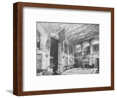 'Belvoir Castle, Leicestershire' - The Duke of Rutland, 1910-Unknown-Framed Giclee Print