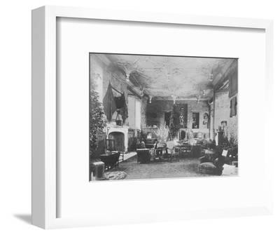 'Broughton Castle, Banbury - The Lord Save and Sele', 1910-Unknown-Framed Photographic Print