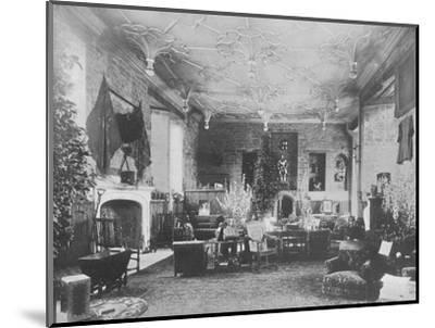 'Broughton Castle, Banbury - The Lord Save and Sele', 1910-Unknown-Mounted Photographic Print