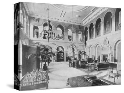 'Grimsthorpe Castle, Lincolnshire - The Earl of Ancaster', 1910-Unknown-Stretched Canvas Print