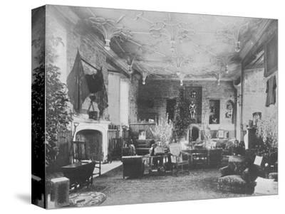 'Broughton Castle, Banbury - The Lord Save and Sele', 1910-Unknown-Stretched Canvas Print