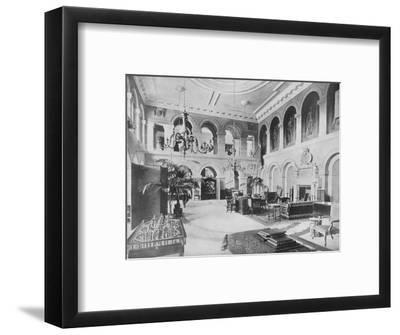 'Grimsthorpe Castle, Lincolnshire - The Earl of Ancaster', 1910-Unknown-Framed Photographic Print