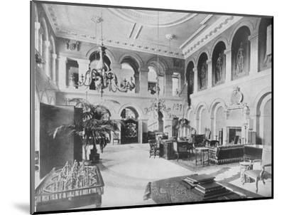 'Grimsthorpe Castle, Lincolnshire - The Earl of Ancaster', 1910-Unknown-Mounted Photographic Print