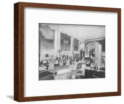 'Badminton, Gloucester - The Duke of Beaufort', 1910-Unknown-Framed Photographic Print