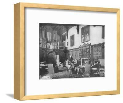 'Castle Ashby, Northamptonshire - The Marquis of Northampton, K.G.', 1910-Unknown-Framed Photographic Print