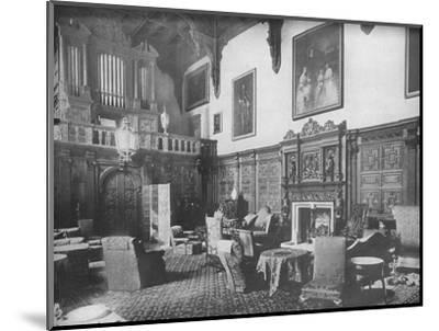 'Castle Ashby, Northamptonshire - The Marquis of Northampton, K.G.', 1910-Unknown-Mounted Photographic Print
