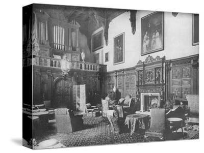 'Castle Ashby, Northamptonshire - The Marquis of Northampton, K.G.', 1910-Unknown-Stretched Canvas Print