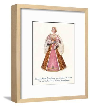 Eleanor of Austria, Queen of France, Second Wife of Francis 1st,', 1911.-Unknown-Framed Giclee Print
