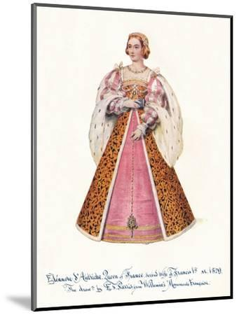 Eleanor of Austria, Queen of France, Second Wife of Francis 1st,', 1911.-Unknown-Mounted Giclee Print