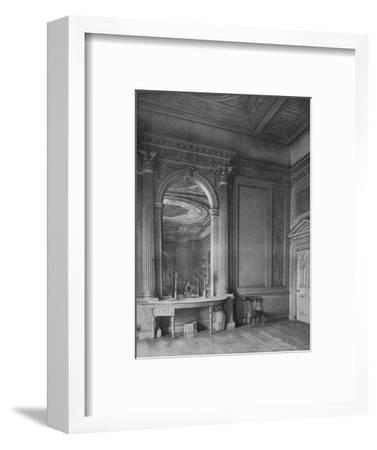 'Ball-Room by Sir William Chambers, 1723-1796), at Carrington House, Whitehall', 1910-Unknown-Framed Photographic Print