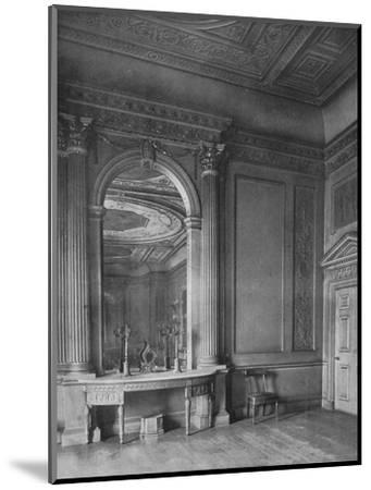 'Ball-Room by Sir William Chambers, 1723-1796), at Carrington House, Whitehall', 1910-Unknown-Mounted Photographic Print