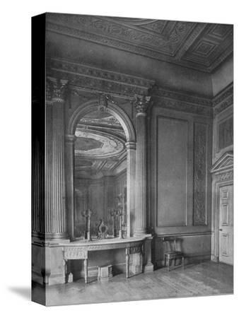 'Ball-Room by Sir William Chambers, 1723-1796), at Carrington House, Whitehall', 1910-Unknown-Stretched Canvas Print