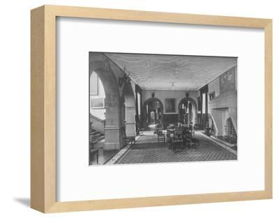 'Dunster Castle, Somerset - Earl of Carhampton', 1910-Unknown-Framed Photographic Print