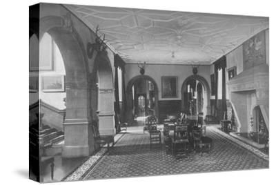 'Dunster Castle, Somerset - Earl of Carhampton', 1910-Unknown-Stretched Canvas Print
