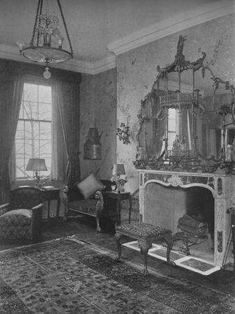 Reception room, house of Miss Anne Morgan, New York City, 1924-Unknown-Framed Photographic Print
