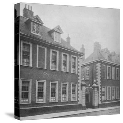 Gateway of Berkeley's Hospital, Worcester, Worcestershire, 1924-Unknown-Stretched Canvas Print