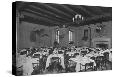 South-east dining room, the Fraternity Clubs Building, New York City, 1924-Unknown-Stretched Canvas Print
