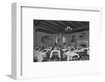 South-east dining room, the Fraternity Clubs Building, New York City, 1924-Unknown-Framed Photographic Print