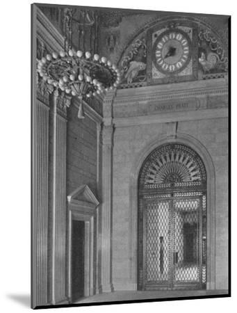 End of main entrance hall, Standard Oil Building, New York City, 1924-Unknown-Mounted Photographic Print