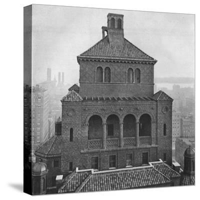 Fraternity Clubs Building, New York City, 1924-Unknown-Stretched Canvas Print
