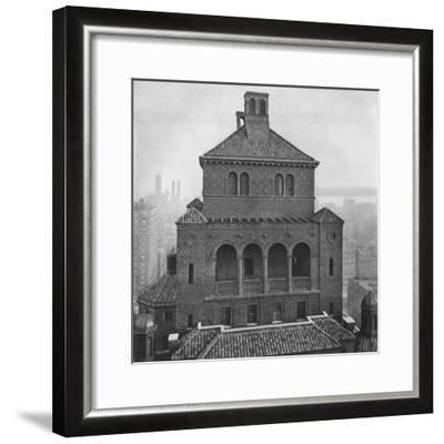 Fraternity Clubs Building, New York City, 1924-Unknown-Framed Photographic Print