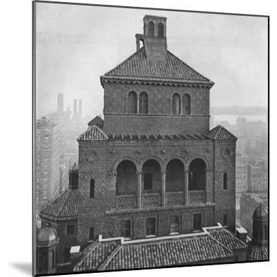 Fraternity Clubs Building, New York City, 1924-Unknown-Mounted Photographic Print