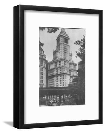 Standard Oil Building, New York City, 1924-Unknown-Framed Photographic Print