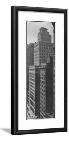 General view of the Johns-Manville Building, New York City, 1924-Unknown-Framed Photographic Print