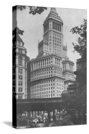 Standard Oil Building, New York City, 1924-Unknown-Stretched Canvas Print