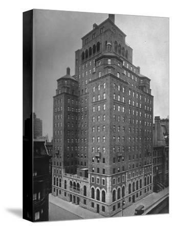 The Fraternity Clubs Building, New York City, 1924-Unknown-Stretched Canvas Print