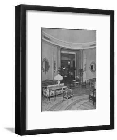 Looking from the Oval Palm Room into the Main Dining Room, Roosevelt Hotel, New York City, 1924-Unknown-Framed Photographic Print