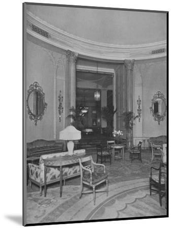 Looking from the Oval Palm Room into the Main Dining Room, Roosevelt Hotel, New York City, 1924-Unknown-Mounted Photographic Print