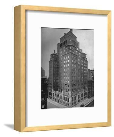 The Fraternity Clubs Building, New York City, 1924-Unknown-Framed Photographic Print