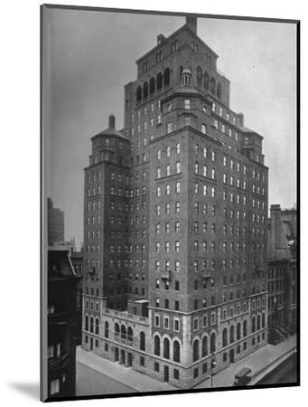 The Fraternity Clubs Building, New York City, 1924-Unknown-Mounted Photographic Print
