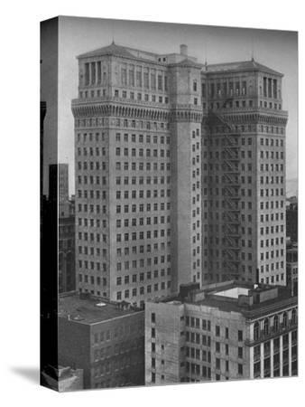 The Standard Oil Building, San Francisco, California, 1924-Unknown-Stretched Canvas Print