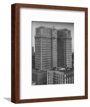 The Standard Oil Building, San Francisco, California, 1924-Unknown-Framed Photographic Print