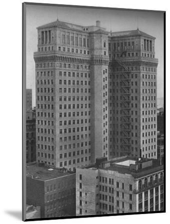 The Standard Oil Building, San Francisco, California, 1924-Unknown-Mounted Photographic Print