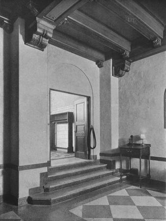 Entrance to south-east dining room, the Fraternity Clubs Building, New York City, 1924-Unknown-Framed Photographic Print