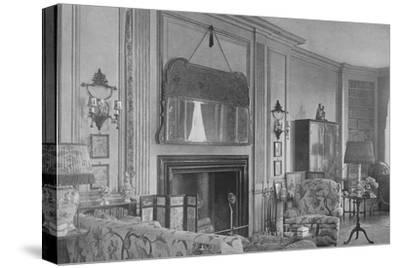 One side of the drawing room, house of Mrs WK Vanderbilt, New York, 1924-Unknown-Stretched Canvas Print