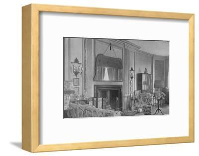 One side of the drawing room, house of Mrs WK Vanderbilt, New York, 1924-Unknown-Framed Photographic Print