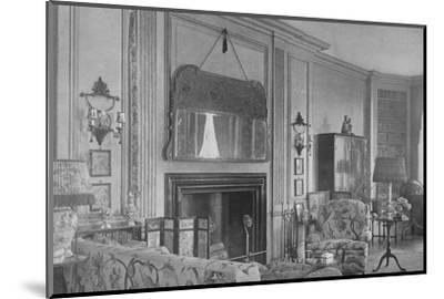 One side of the drawing room, house of Mrs WK Vanderbilt, New York, 1924-Unknown-Mounted Photographic Print