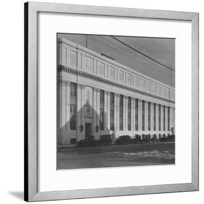 Principal facade of the Masonic Temple, Birmingham, Alabama, 1924-Unknown-Framed Photographic Print