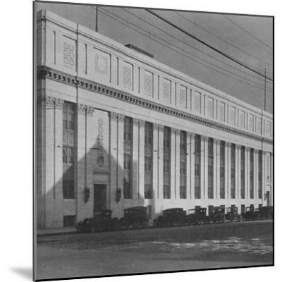 Principal facade of the Masonic Temple, Birmingham, Alabama, 1924-Unknown-Mounted Photographic Print