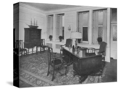 Office of the President, American Press Association, New York City, 1924-Unknown-Stretched Canvas Print