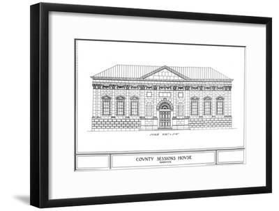 County Sessions House, Warwick, Warwickshire, 1924-Unknown-Framed Giclee Print