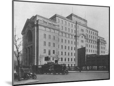 Centre Block of Bush House, London, from Aldwych, 1924-Unknown-Mounted Photographic Print