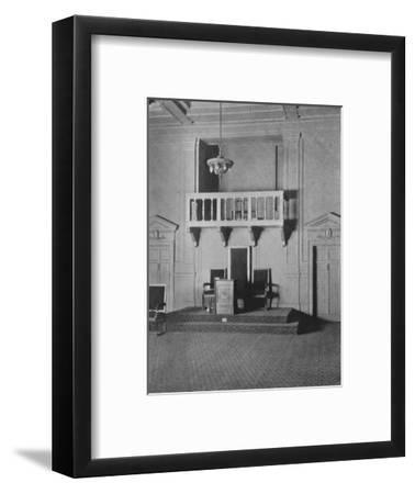 Italian Renaissance detail in the Lodge Room of the Masonic Temple, Birmingham, Alabama, 1924-Unknown-Framed Photographic Print