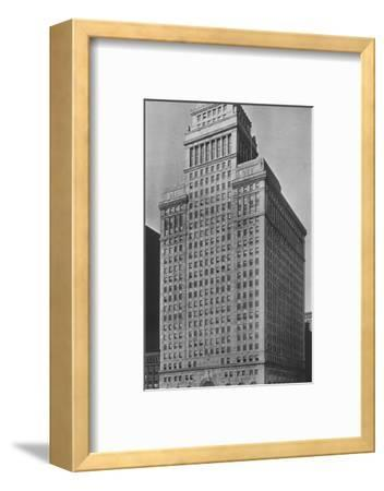 The SW Straus & Co Building, Chicago, Illinois, 1924-Unknown-Framed Photographic Print