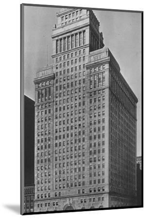 The SW Straus & Co Building, Chicago, Illinois, 1924-Unknown-Mounted Photographic Print